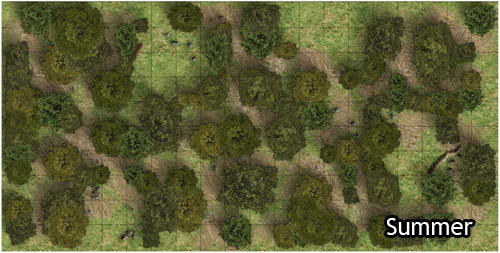 Heroic Maps Forest Paths Heroic Maps Wilderness