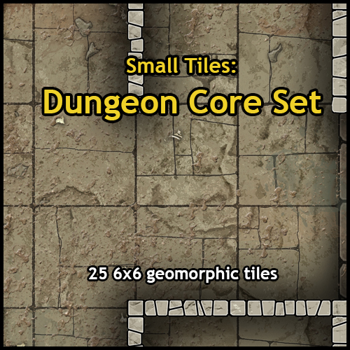 photo relating to Dungeons and Dragons Tiles Printable known as Heroic Maps - Reduced Tiles: Dungeon Main Preset - Heroic Maps