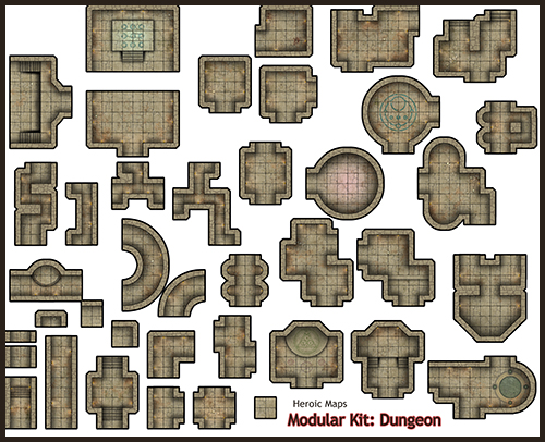 Insane image with dungeons and dragons tiles printable