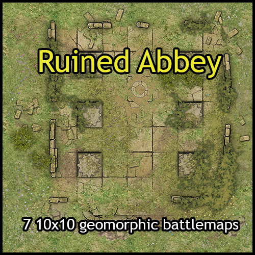 Ruined & Haunted Abbey