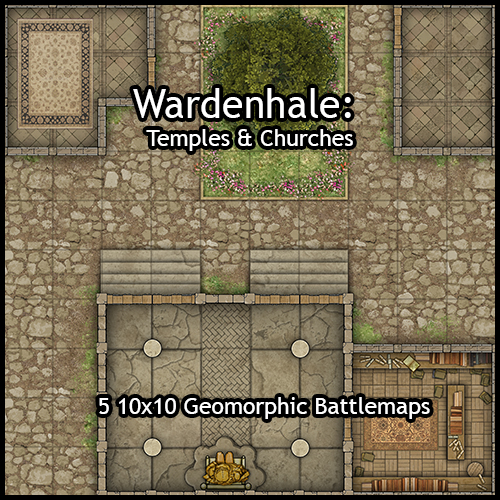 Wardenhale Temples & Churches