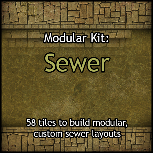 Modular Kits: Sewer & Sewer Large Rooms