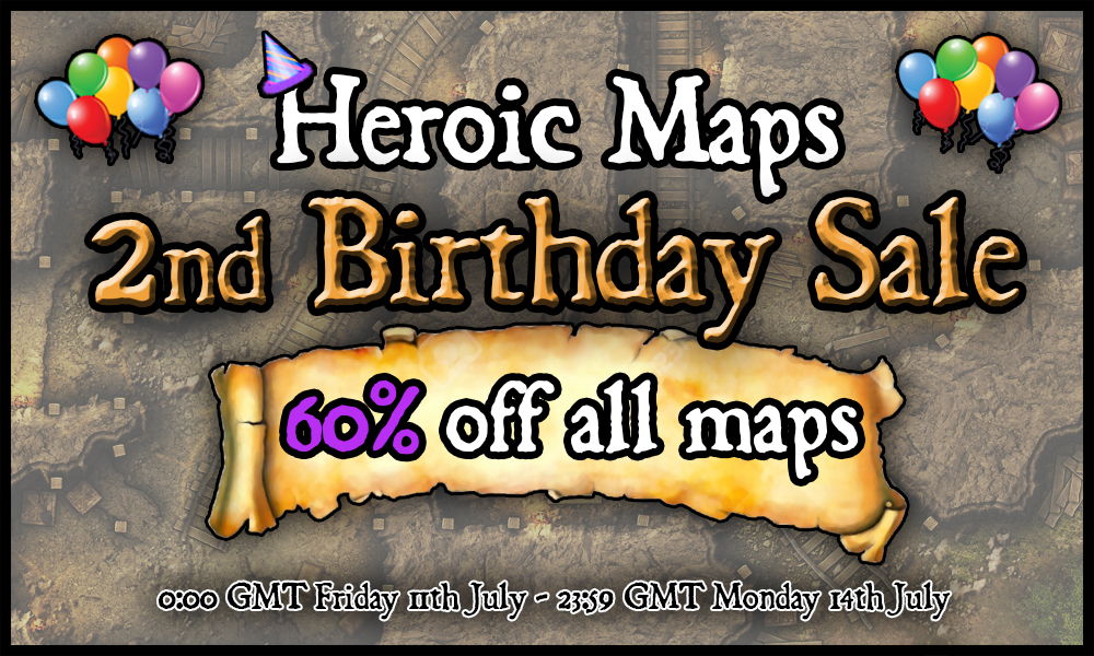 2nd Birthday Sale