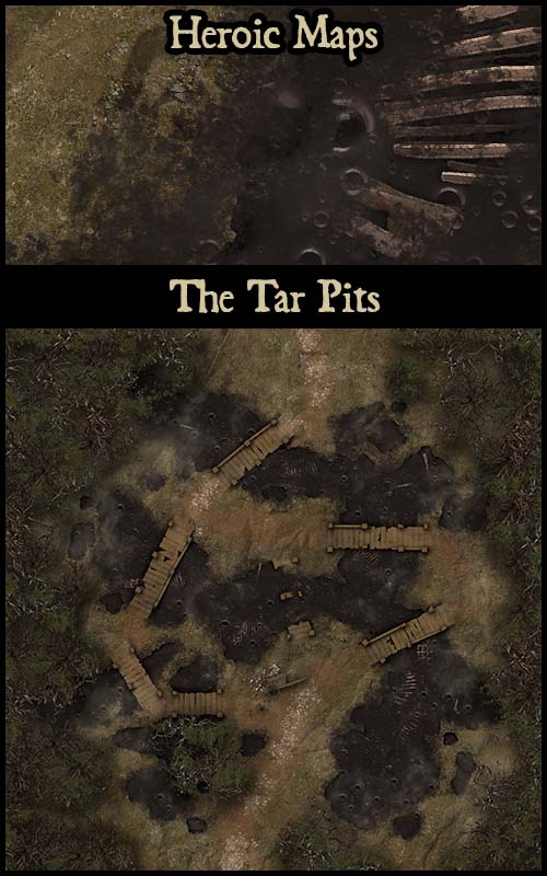 Heroic Maps The Tar Pits Crystal Throne Room And