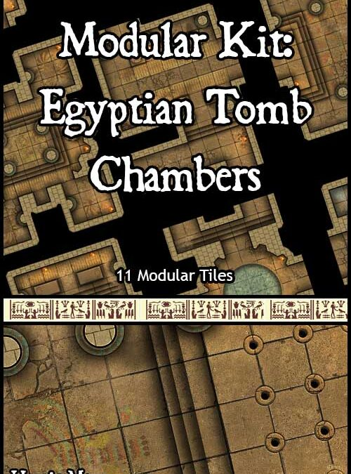 Modular Kit: Egyptian Tomb Chambers
