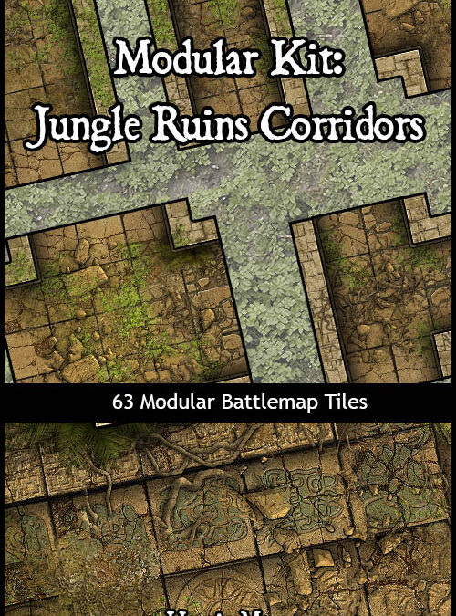 Modular Kit: Jungle Ruins
