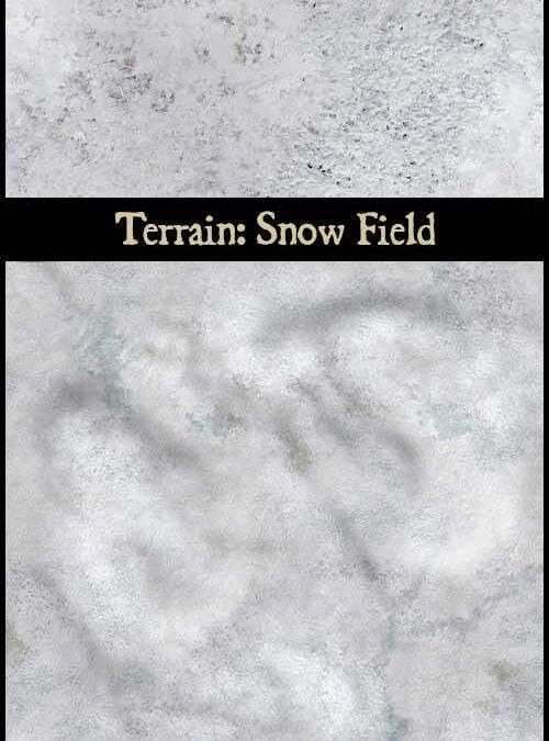 Terrain: Snow Field & Snow Ruins