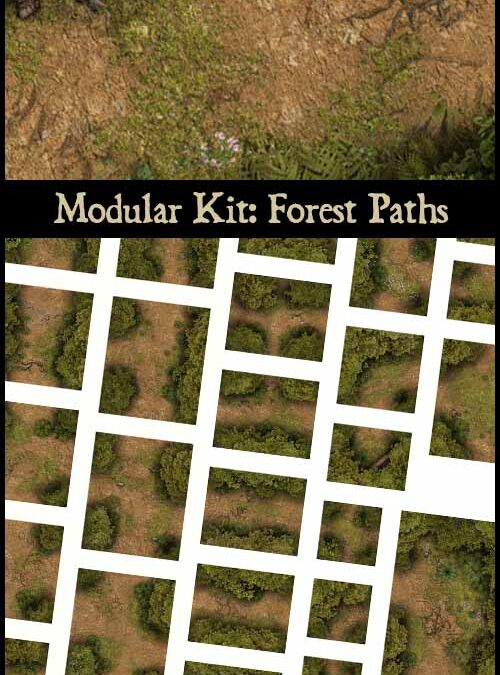 Modular Kit: Forest Paths