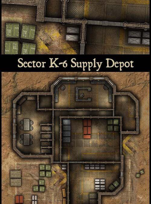 Sector K-6 Supply Depot