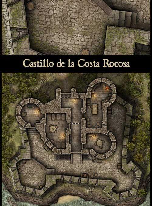 Castillo de la Costa Rocosa