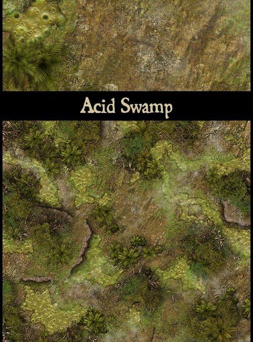 Acid Swamp & Acid Swamp Ruins