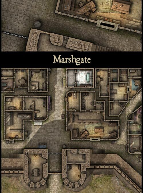 Marshgate & Chapel of the Unquiet Dead