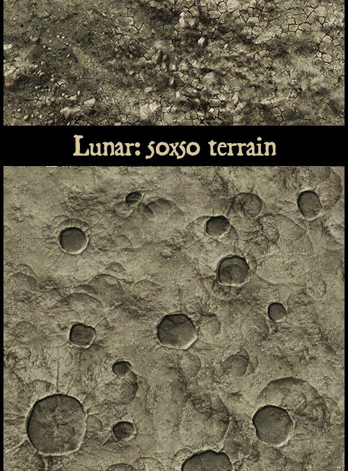 Terrain: Lunar and Martian