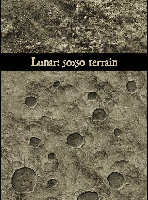 Terrain: Lunar and Martian