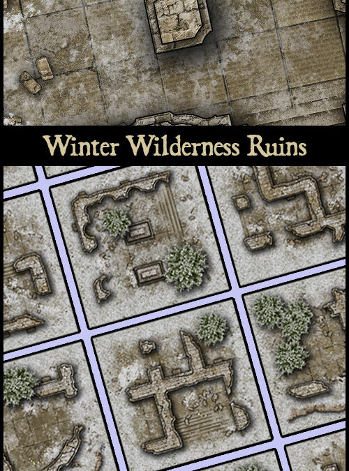 Winter Wilderness Ruins
