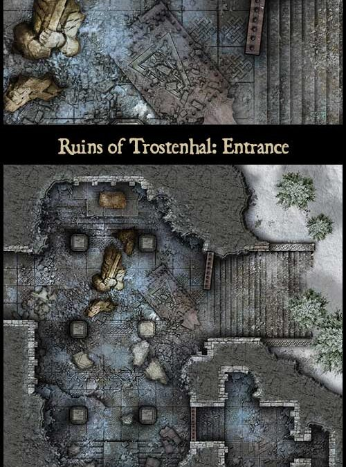 Festive Friday – Ruins of Trostenhal