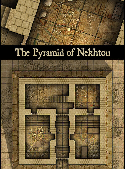 The Pyramid of Nekhtou
