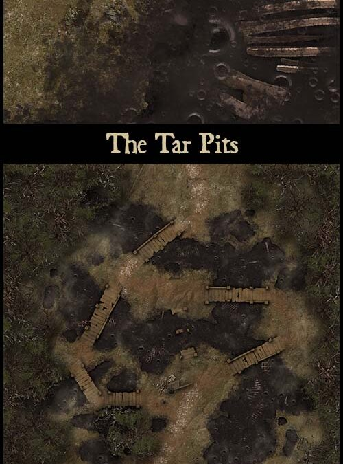 The Tar Pits, Crystal Throne Room and Horror at Misty Meadows