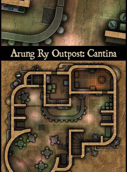 Arung Ry Outpost: Cantina