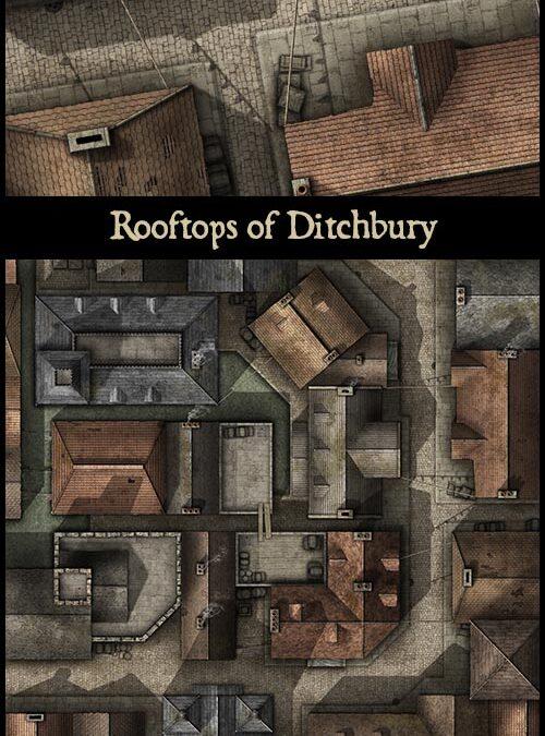 Rooftops of Ditchbury
