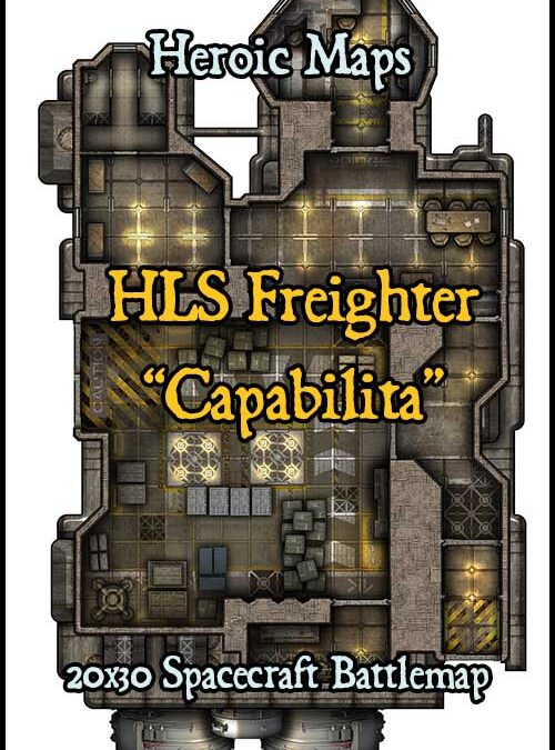 HLS Freighter Capabilita Spacecraft
