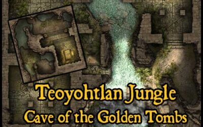 Teoyohtlan Jungle – House of the Snake & Cave of the Golden Tombs