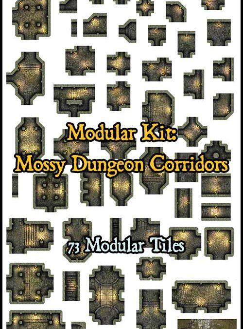 Mossy Dungeon Corridors