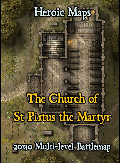 The Church of St Pixtus the Martyr
