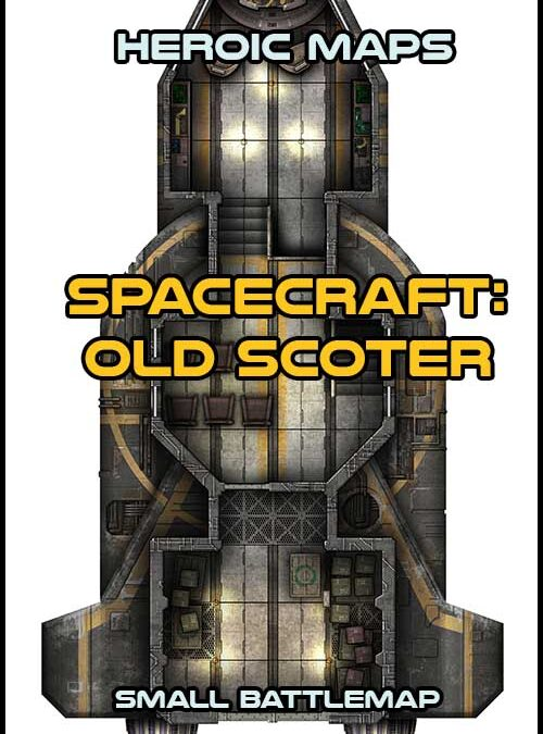 Spacecraft – Greywing & Old Scoter