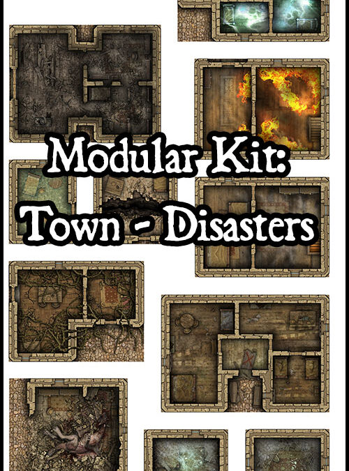 Modular Kit Town – Disasters