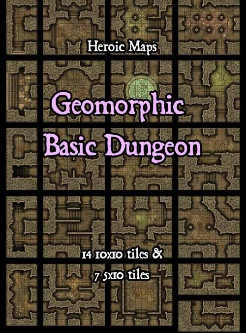 Geomorphs – Basic Dungeon
