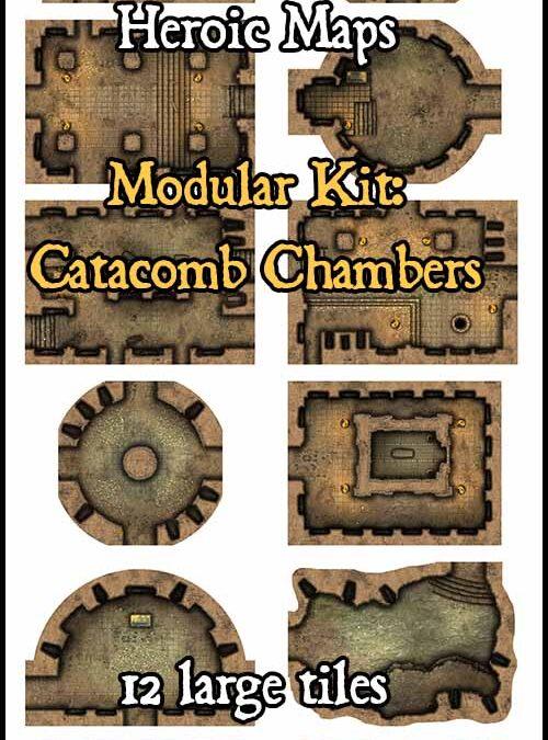 Modular Kit: Catacomb Tunnels & Chambers