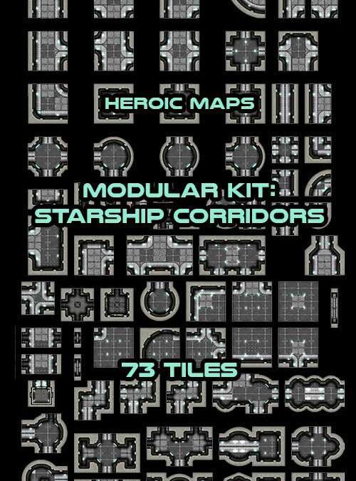 Modular Kit: Starship Corridors