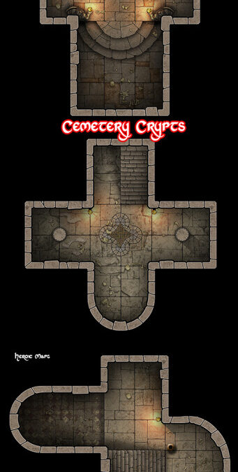 Cemetery and Crypts