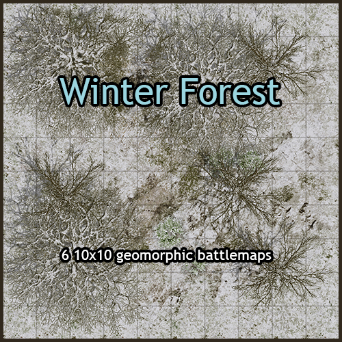 Winter Forest Maps