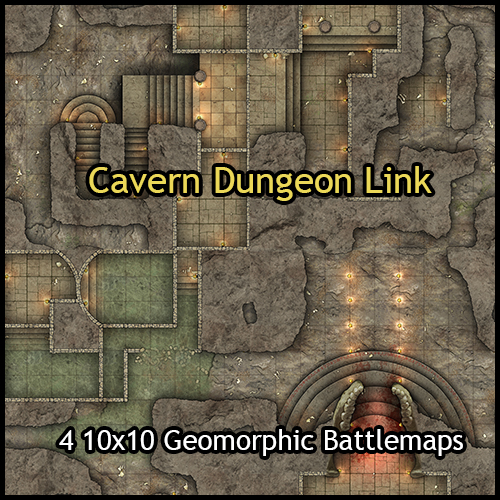 Cavern Dungeon Link
