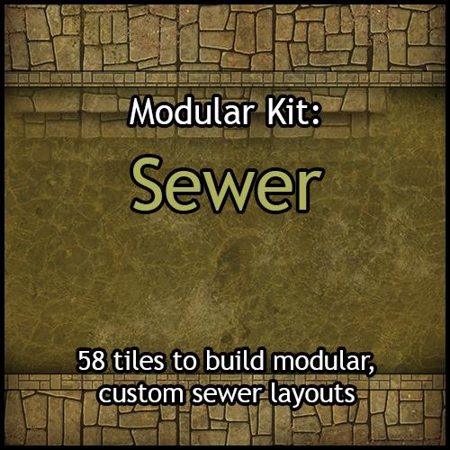 Modular Kits: Sewer & Sewer Large Rooms