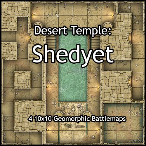 Desert Temple: Shedyet
