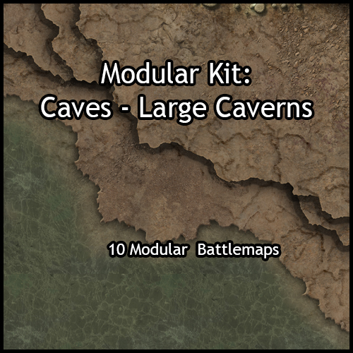 Modular Caves – Large Caverns