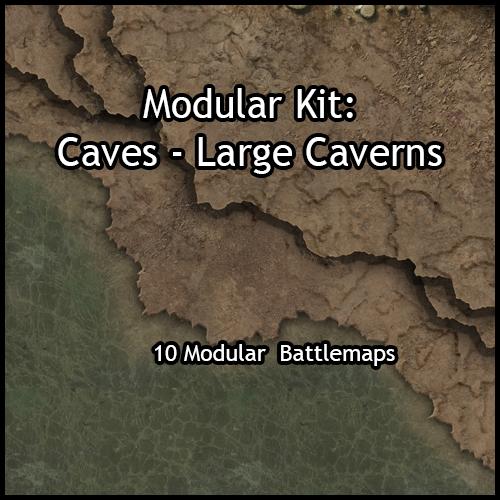 Modular Caves – Large Caverns