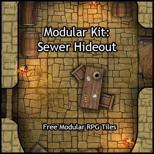 Sewer Hideout – Free map