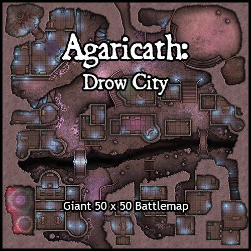 Agaricath: Drow City