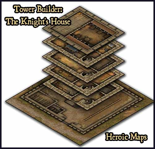 Tower Builder – The Knight's House & The Ranger's House