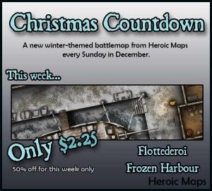 Flottederoi Frozen Harbour