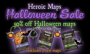 Heroic Maps – Halloween Sale